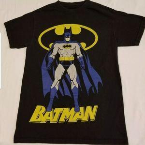 Batman dc comics big Graphic tee shirt black